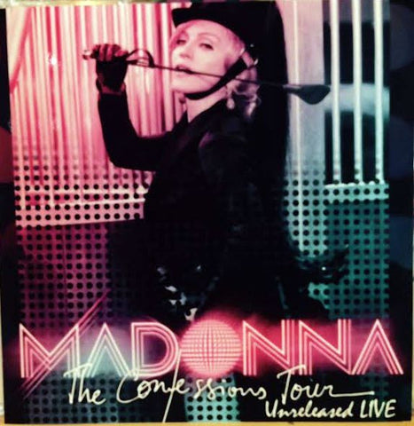 MADONNA Unreleased Confessions LIVE CD +Bonus