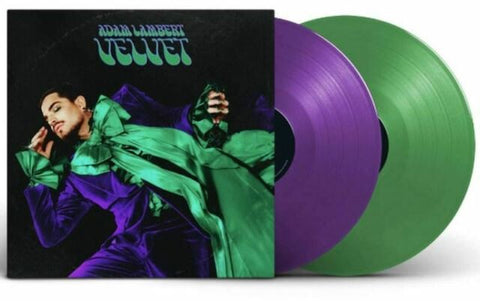 Adam Lambert - Velvet [2LP] (Purple & Green Vinyl, gatefold) New