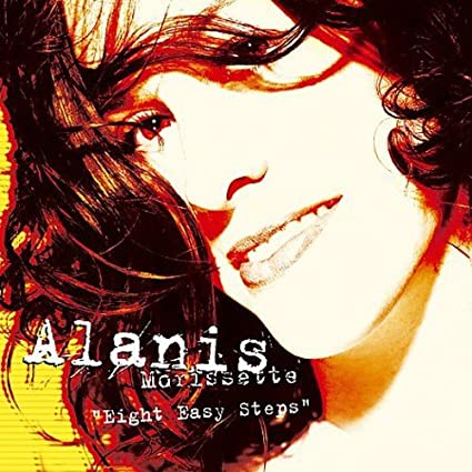 Alanis Morissette - Eight Easy Steps (USA maxi remix CD single) used
