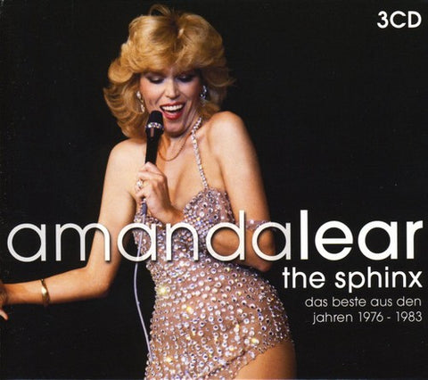 Amanda Lear : The Sphinx - Best of Amanda Lear 1976-83  [Import] 3CD - new