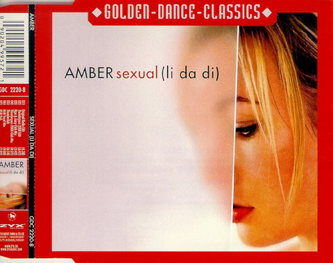 Amber - Sexual (li da di) - Import CD single - New