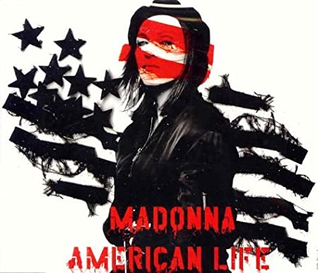 Madonna : American Life/Die Another Day - 2 track CD single - used