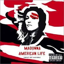 Madonna - American Life (USA Maxi Remix CD single) used