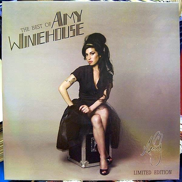 Amy Winehouse - The Best Of - '''Pink/Purple''' VINYL LP (USA & Canada shipping only!)
