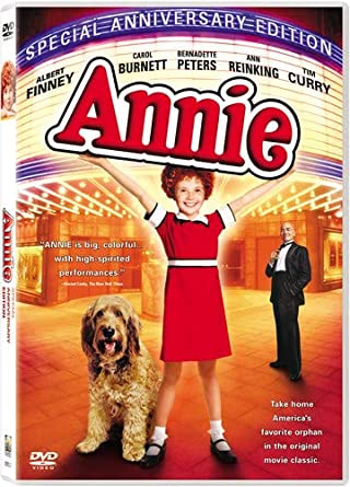 Annie  Special Anniversary Edition DVD (Carol Burnett, Bernadette Peters) DVD New