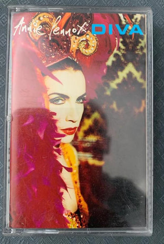 Annie Lennox - DIVA Cassette Audio Tape -Used 90s