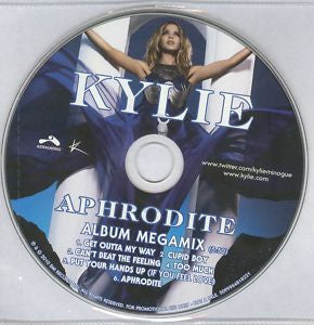 kylie Minogue Aphrodite Album Megamix CD