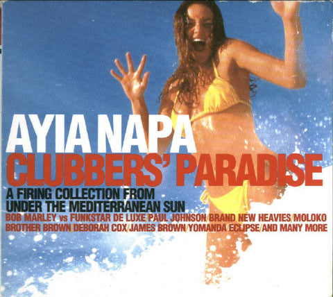Ayia Napa - Clubber's Guide under the Mediterranean Sun 2CD (used)