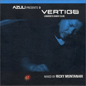 Azuli presents : VERTIGO - Mixed by Ricky Montanari CD