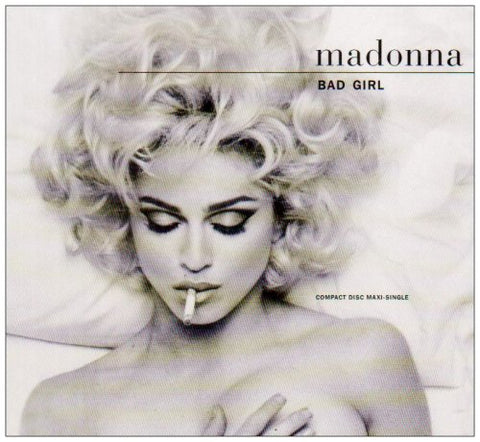 Madonna - Bad Girl Used USA CD Maxi Single - Used