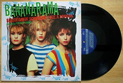 "Bananarama - Really Saying Somethin' 12"" LP Vinyl"