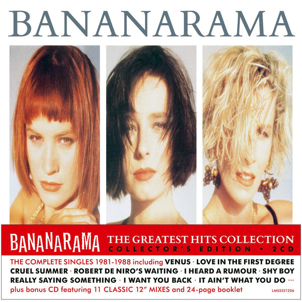 Bananarama - The Greatest Hits Collection Expanded Collector's Edition 2CD