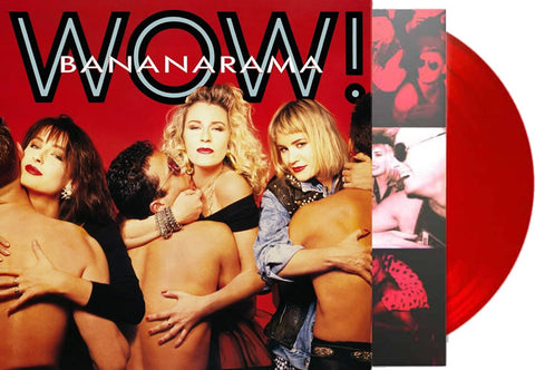 Bananarama - WOW (RED VINYL) Import 2018 Limited LP