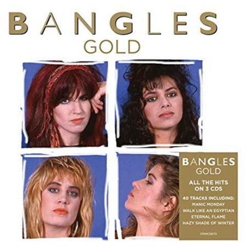 Bangles - GOLD 3xCD set w/ REMIXES - New