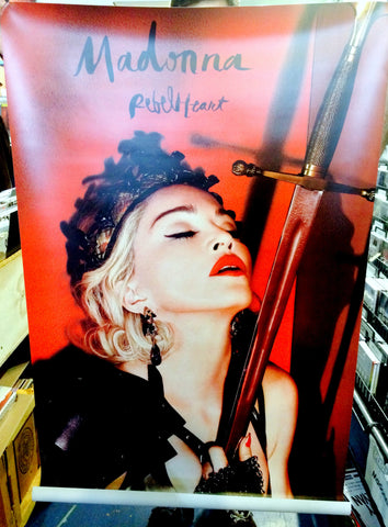 Madonna - Joan Of Arc 4ft vinyl banner