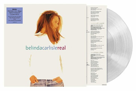 Belinda Carlisle - REAL (Translucent 'Clear' Vinyl, United Kingdom - Import) LP Record