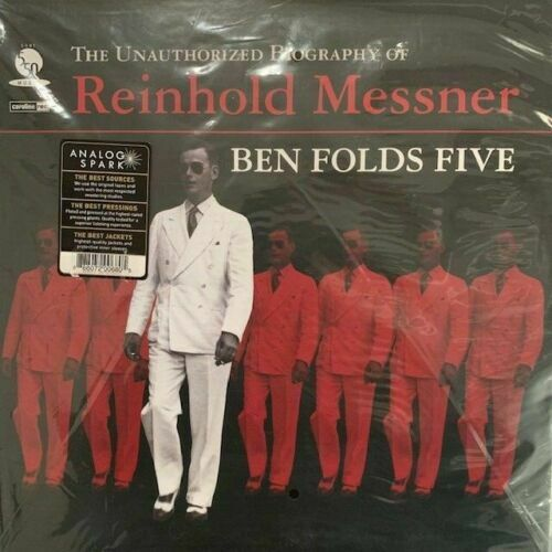 Ben Folds Five - The Unauthorized Biography Of Reinhold Messner LP Vinyl - New