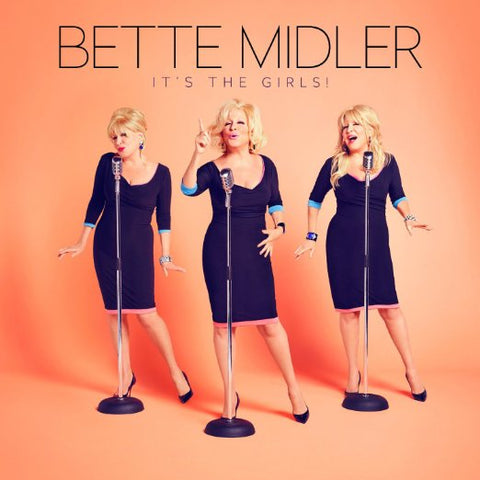 Bette Midler - It's The Girls! Import CD + 2 bonus tracks