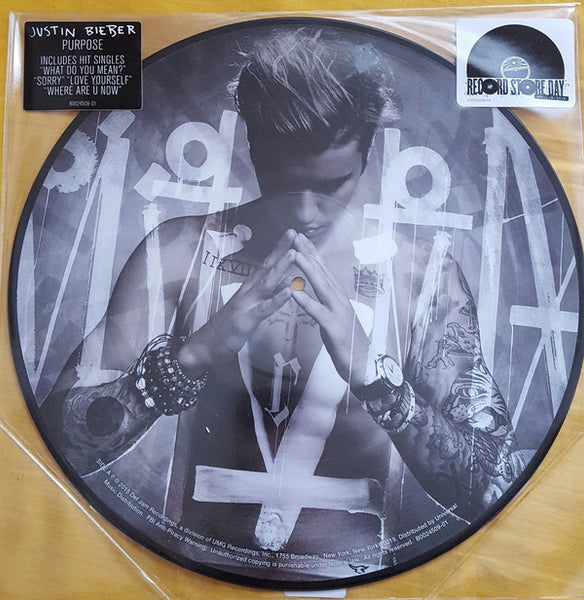 Justin Bieber - Purpose Picture Disc Lp Limited Rsd Import New 2016