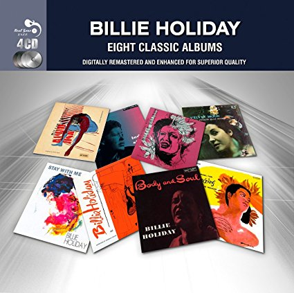 Billie Holiday - 8 Classic Albums remastered CD Box Set