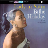 Billie Holiday - Lady In Satin (Limited Edition BLUE Vinyl) LP