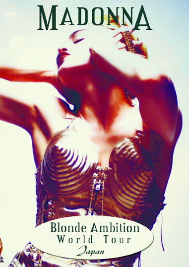 MADONNA Blonde Ambition JAPAN DVD