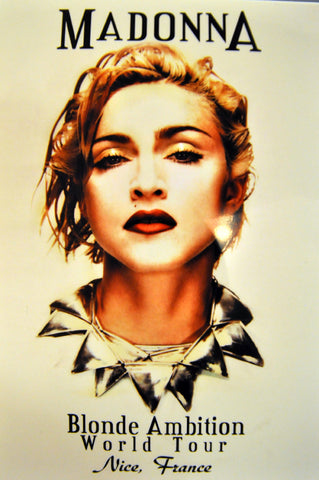 Madonna Blonde Ambition DVD (FRANCE)
