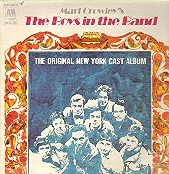 Mart Crowley's - Boys in the Band [Vinyl LP] Broadway Cast Recording LP Vinyl (Used)