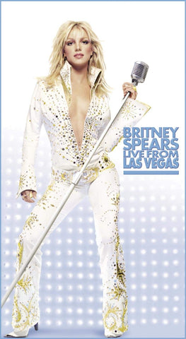 Britney Spears - LIVE From las Vegas DVD (New)