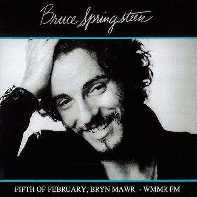 BRUCE SPRINGSTEEN LIVE - Fifth Of February, Bryn Mawr WMMR Fm LP NEW VINYL