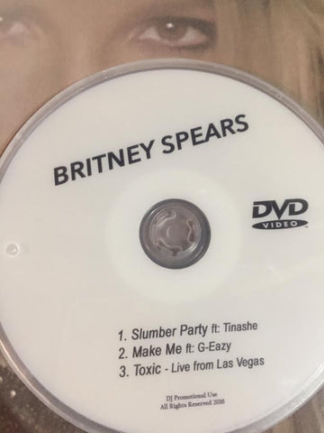 Britney Spears  DVD - Slumber Party, Make Me +