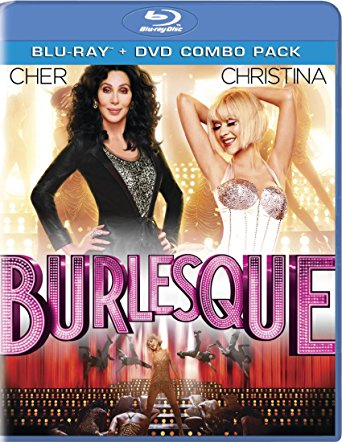 Burlesque Blu-ray/DVD combo - Cher & Christina Aguilera (NEW)