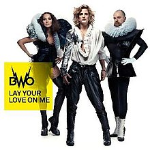 BWO - Lay Your Love On Me (Import CD single) opened