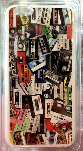 Cassette Tape Collage iPhone 6+ Case