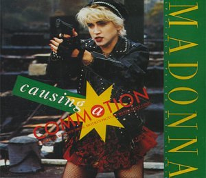 Madonna - Causing A Commotion (Import) CD single - OUT OF STOCK