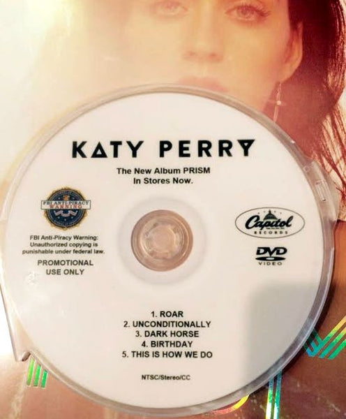 Katy Perry - PRISM Video Collection DVD (NTSC)
