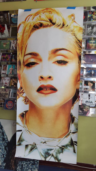 Madonna - 1991 Celebration Face 6ft vinyl banner