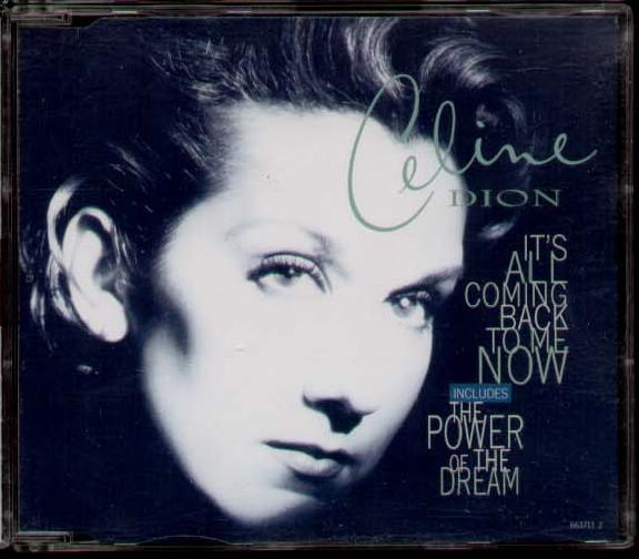 Celine Dion It S All Coming Back To Me Now Used Import Cd Single Borderline Music