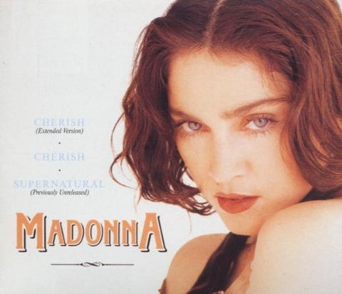 Madonna - Cherish (UK Import Remix CD single) Used