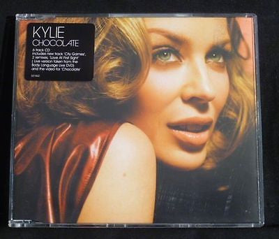 Kylie Minogue - Chocolate (Import CD Single)