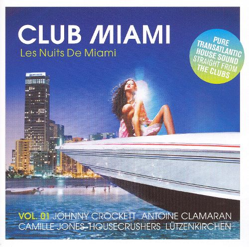 Club Miami - Les Nuits De Miami -2CD set used.