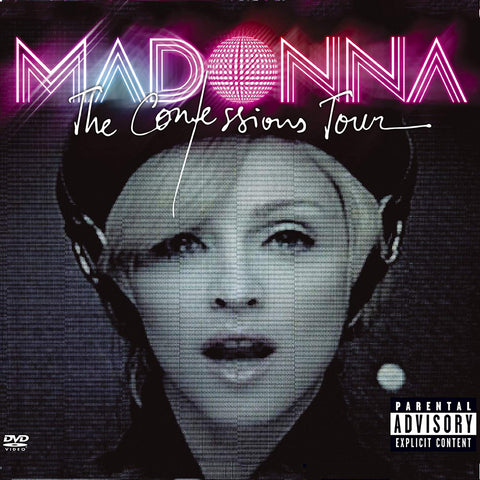Madonna - Confessions Tour CD/DVD - Used