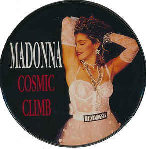 Madonna - Cosmic Climb CD in Tin case with postcards
