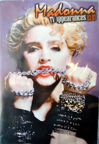 MADONNA 1983-85 TV Appearances DVD