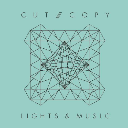Cut Copy - Lights & Music CD single (Used)  2008