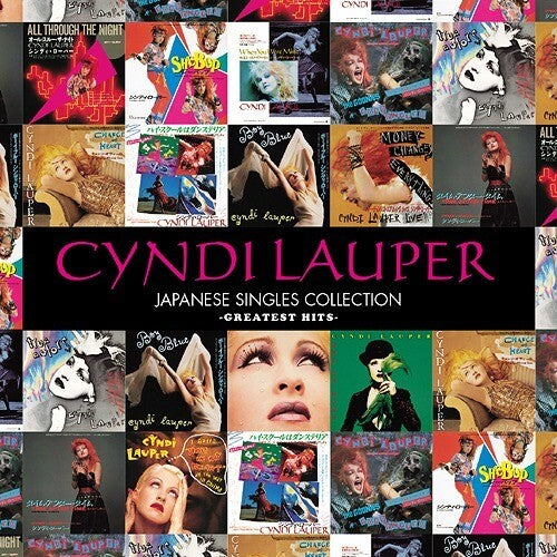 Cyndi Lauper -Japanese Singles Collection (Blu-Spec CD2 + DVD/ Region Free) New