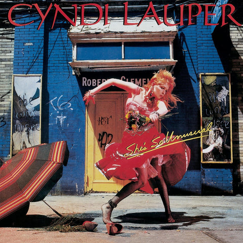 CYNDI Lauper - She's So Unusual  CD + BONUS Live tracks - New