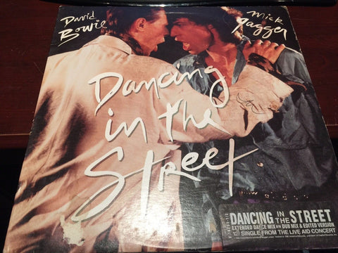 "David Bowie / Mick Jagger - Dancing in the Street 12"" (Used)"