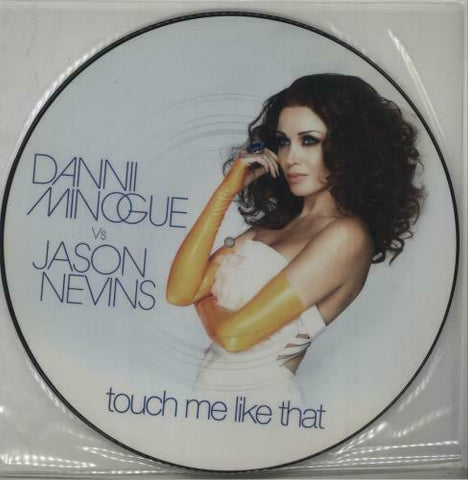 "Dannii  Minogue - touch me like that UK Picture Disc 12"" Lp vinyl"