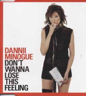 Dannii Minogue / MADONNA - Don't Wanna Lose This Feeling (Madonna sample) CD